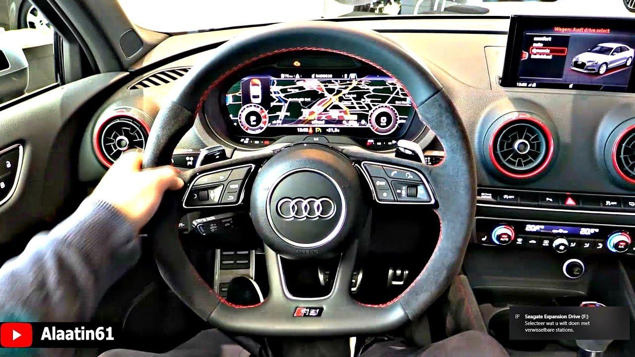 2019 Audi Rs3 Interior Youtube