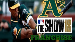 MLB The Show 18 PS4 - Rays vs Athletics Game 3 (Full Broadcast Presentation)