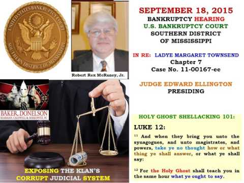 09 18 15 U S BANKRUPTCY HEARING RECORDING Townsend Matter