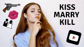 KISS MARRY KILL CHALLENGE
