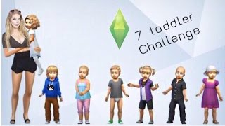 Potty Training Insanity | Part 2 | 7 Toddler Challenge || Let's Play || Sims 4