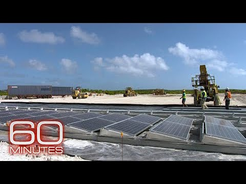 Hurricane-ravaged Bahamas island rebuilding with storm-proof solar grids