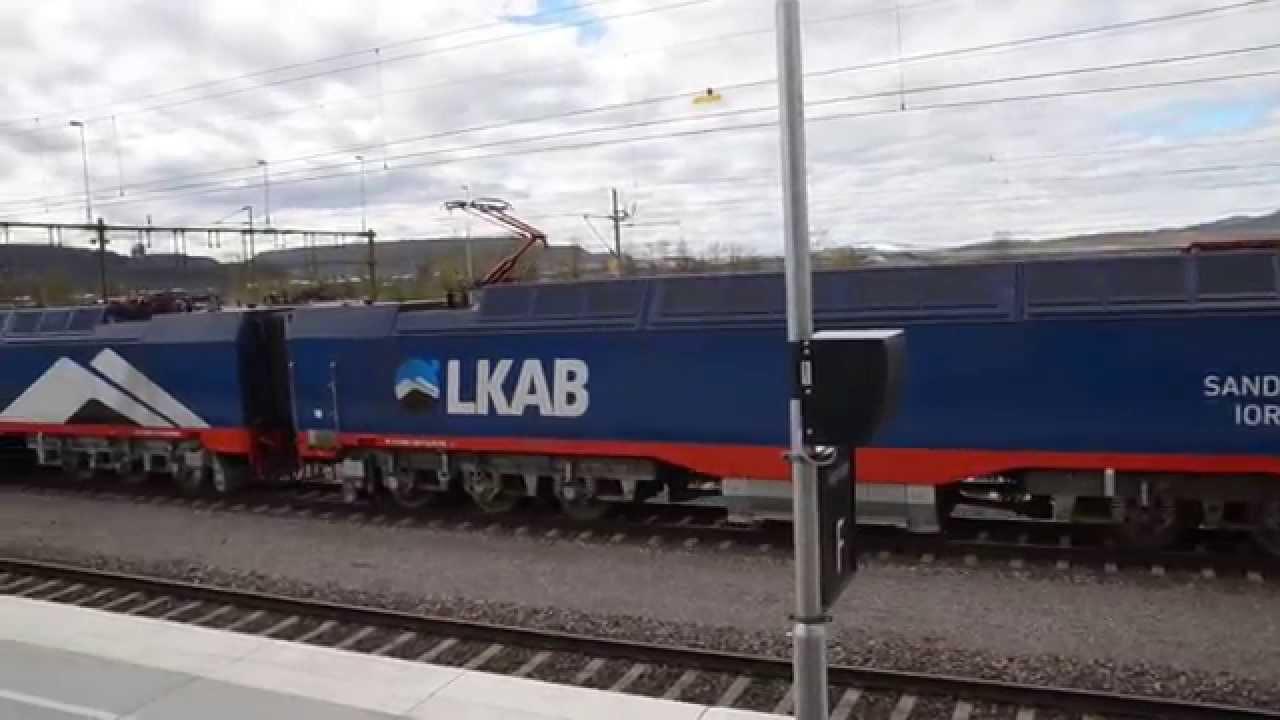 the new kiruna c station 2015 youtube