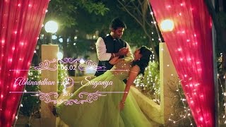 ABHINANDHAN & SUGANYA  - CINEMATIC WEDDING HIGHLIGHTS