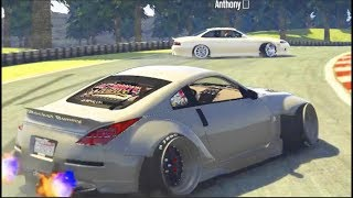 GTA 5 FiveM Online TANDEMS - WIDEBODY 350z - w/Anthony_E92