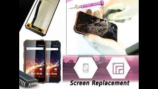 myPhone Hammer Energy Screen Replacement Repair Tutorial / Wymiana ekranu