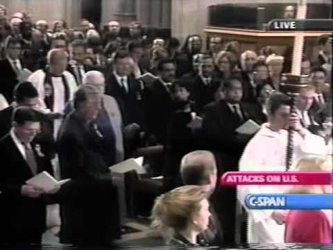 O God Our Help In Ages Past - National Cathedral Sept 14, 2001 National Prayer Service