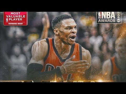 NBA 2016-17 Season Awards! Most Valuable Player!