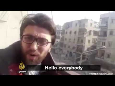 Residents of East Aleppo are giving their final messages to the world.
