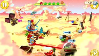 Angry Birds Epic - GOLDEN CLOUD CASTLE - RETURN TO THE JUNGLE FINAL