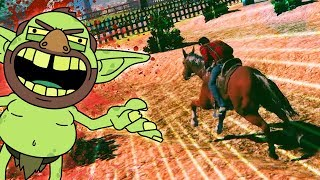 ZOMBIE RIDES A HORSE | John The Zombie