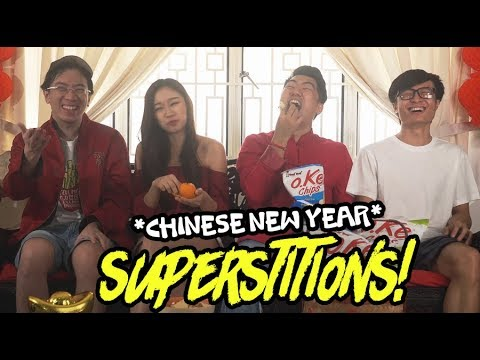 Chinese New Year Superstitions!