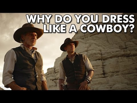 72ff076f85469 Why do you dress like a cowboy  - YouTube