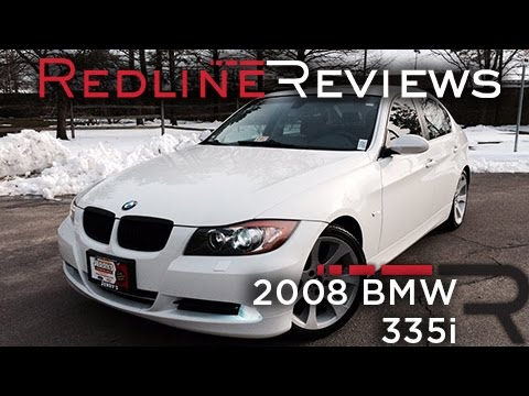 2008 BMW 335i Review, Walkaround, Exhaust, & Test Drive