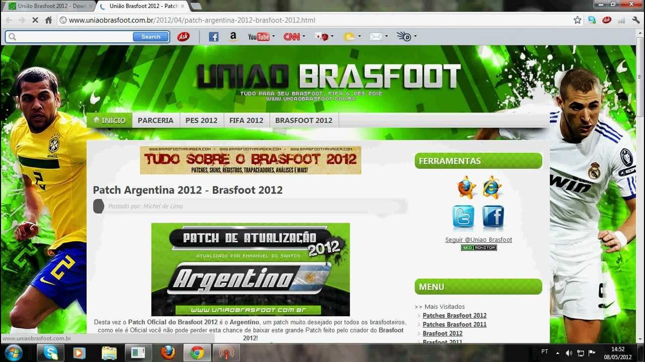 REGISTRO COM BAIXAKI GRATIS DOWNLOAD BRASFOOT GRATUITO 2012