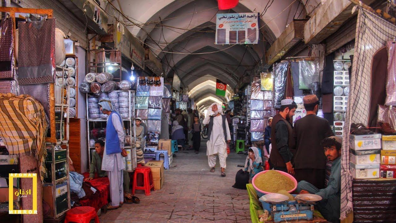 On The Streets Of Kandahar City Afghanistan !