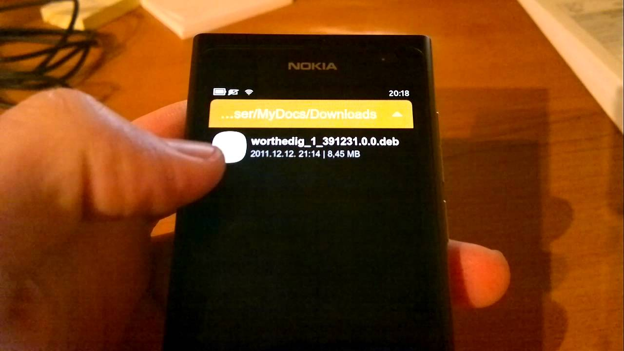 Installing and uninstalling apps on Nokia N9