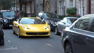 2010 06 30 Hypercar Highlights - Murci SV, Purple SLS, Carbon SLR, Yellow 458 Italia