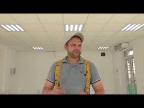 """LED светильник Exmork  для потолков """"Армстронг"""""""