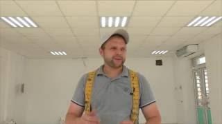 видео Светильник для потолка Армстронг