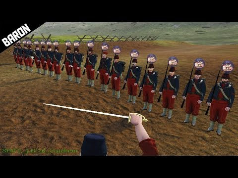 AMERICAN CIVIL WAR!!!  (Mount and Blade Mod)