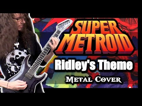 Super Metroid RIDLEY'S THEME || Metal Cover by ToxicxEternity