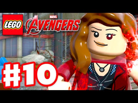 LEGO Marvel's Avengers - Gameplay Walkthrough Part 10 - Scar
