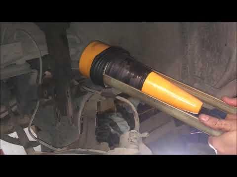 Как заменить пыльник на гранате не снимая гранаты видео