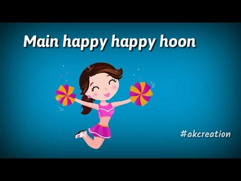Happy Happy   StatusBlackmail  Badshah   Status Aastha Gill   Happy Happy Whatasapp Status