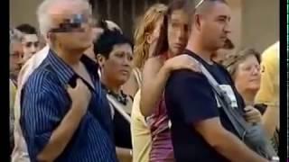 Barcelona Ramblas'ta Bayanları Taciz Eden İhtiyar Fortçu
