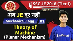 9:00 PM - SSC JE 2018 (Tier-I)   Mechanical Engg by Neeraj Sir   Theory of Machine
