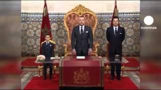 Fas Kralı reform vaadinde bulundu