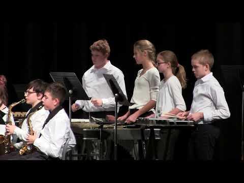 Hermantown Middle School Holiday Concert 11 Dec 2017 - 1/2