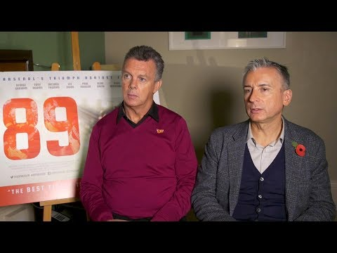Interviews With Former Arsenal Stars For 89 Documentary