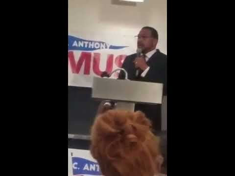 Senator C. Anthony Muse Announcement For Prince George's County Executive