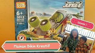 конструктор LOZ Robotic Frog Jungle 3012 обзор