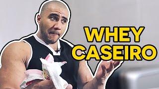 WHEY PROTEIN CASEIRO - COMO FAZER