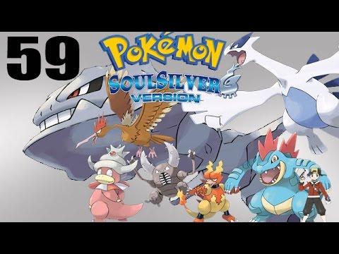 Let's Play Pokémon Soul Silver #59 - Viridian Gym! Steelix VS Pidgeot!