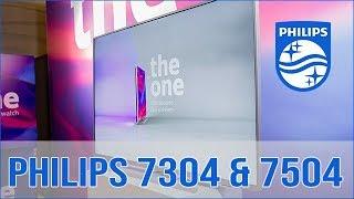 Philips 7304 und 7504 4K LCD vorgestellt