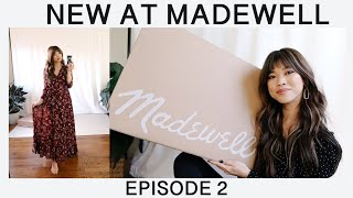 NEW AT MADEWELL - Try on haul Episode 2