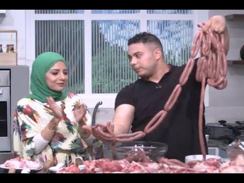 السجق البلدي علي طريقة الجزار  سارة عبد السلام   سنة اولي طبخ  PNC FOOD