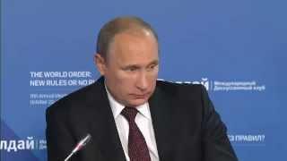 Откровенный рассказ Путина о Крыме