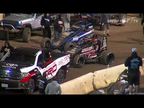 USAC 410 Sprint Feature | Perris Auto Speedway 11.10.18