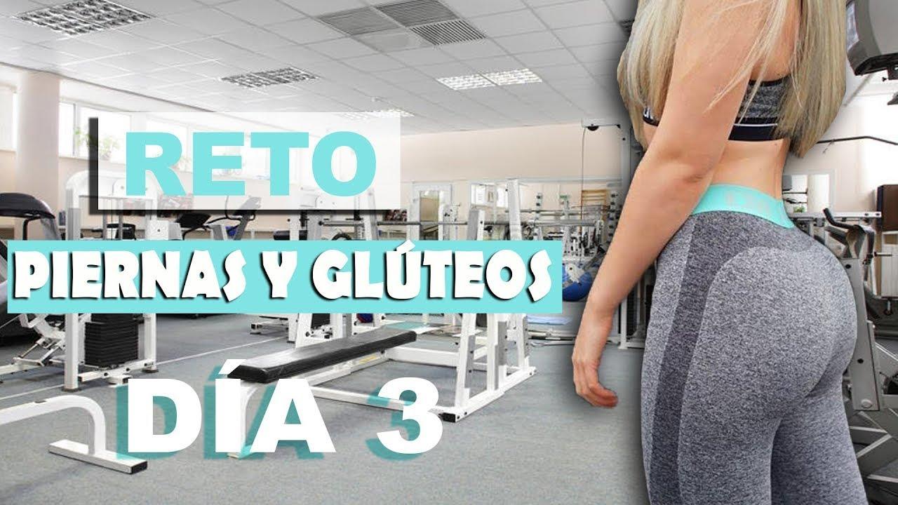 Día 3 Reto  PIERNAS y GLÚTEOS  ¿Cómo AGRANDARLOS RÁPIDO SIN PESAS   Glutes Workout .
