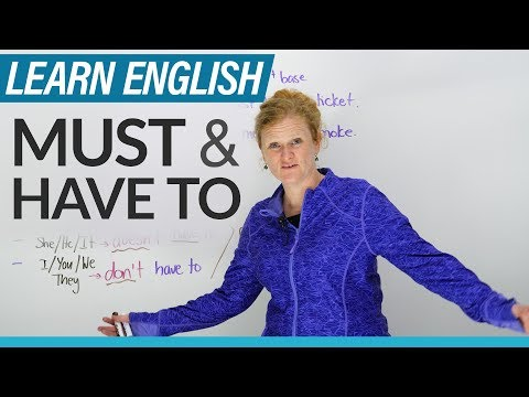 English Grammar: MUST
