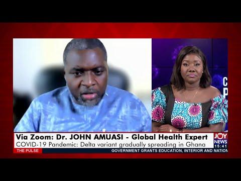 COVID-19 Pandemic: Delta variant gradually spreading in Ghana - The Pulse on JoyNews (16-7-21)