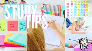 The best study tips + organization tips!
