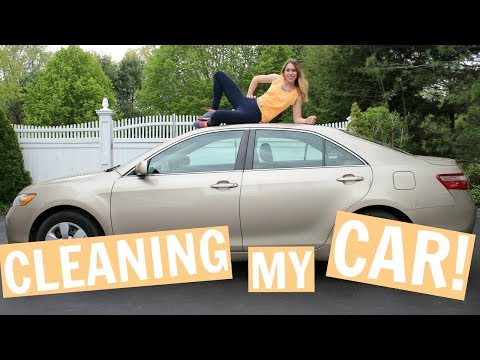 How to Clean Your CAR | My Car Cleaning Routine