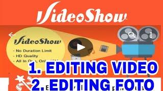 Cara Edit Foto Di VideoShow Jadi Video Music
