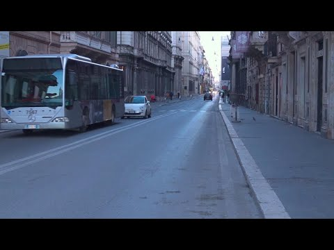 Coronavirus, Roma deserta dopo il decreto restrittivo